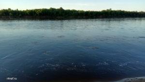 Бурлящая река Вятка