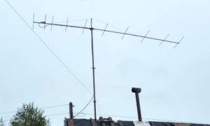 VHF antenna YU7EF 10 elements